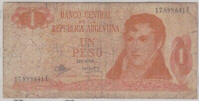 (N36-1) 1974 Argentina 1 Peso bank note (A)