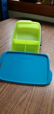 Tupperware Large Lunch-It Divided Dish  Container-Free Shipping!