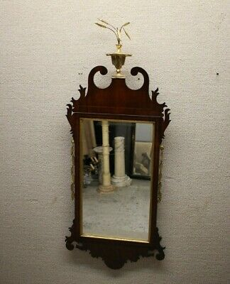 Antique 19th Century Decorative American Federal Mirror