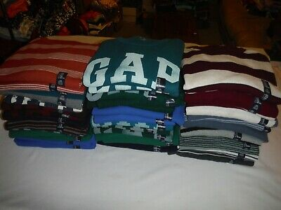 Long Sleeve Men's Thermal T-Shirts GAP 100% cotton All reg Size Many Colors NWT