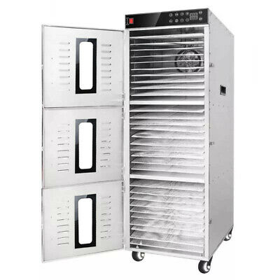 Bench Foods 30-CUD | 3-Zone Digital Commercial Food Dehydrator | 30 Tray - 4.8m²