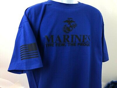 US Marine Corps The few. the Proud. T Shirt American Warrior