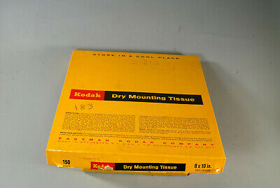 Kodak 8x10 Dry Mount Tissue, 183 sheets