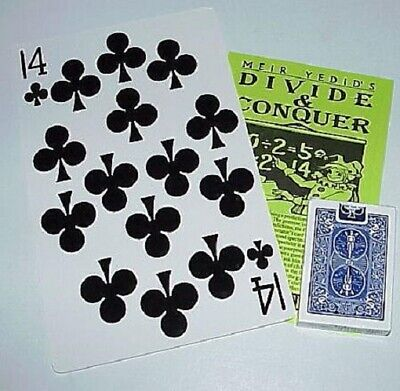 Divide and Conquer (Meir Yedid) -- super jumbo 14 of Clubs w/ routine       TMGS