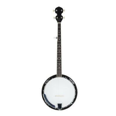 5 String Banjo High Quality Closed Back Brackets Head & Maple Neck With Tools