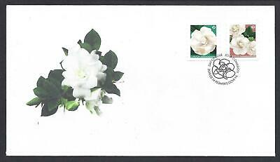 2019 Gardenia Flowers Limited Combo FDC with coils stamps