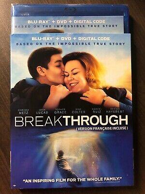 Breakthrough Blu-Ray & DVD w Slipcover Canada Bilingual NO DC LOOK True Story