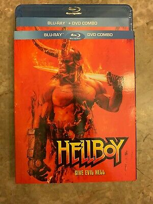 NEW Hellboy 2019 Blu-Ray & DVD w Slipcover Canada Bilingual SEALED