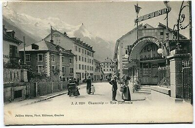 CPA - Carte Postale - France - Chamonix - Rue Nationale - 1906 (I9581