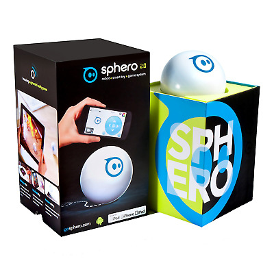 Orbotix S003RW1 Sphero 2.0: The App-Controlled Robot Ball Packaging May Vary