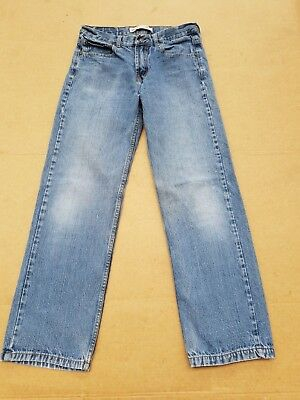 G54 Boys / Girls Levi Strauss 505 Blue Relaxed Leg Jeans Age 18 W29 L29