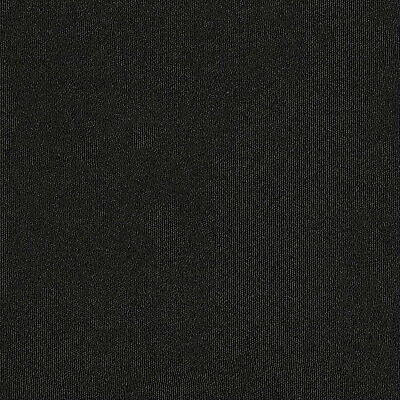 Jet Black Carpet Tiles 5m2 Box - Domestic Commercial Office Heavy Use Flooring