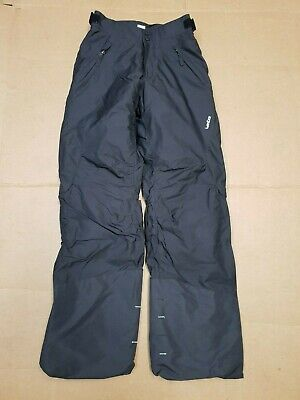 J232 Boys Wed'ze Grey  Skiing Snowboarding Trousers Age 12 Yrs W26-27 L30