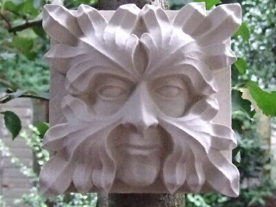Green Man Wall Plaque - Roof Boss from Gloucester Cathedral