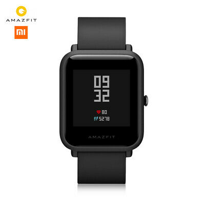 Xiaomi Huami AMAZFIT Bip Lite Sports Smart Watch Waterproof Global Version Black