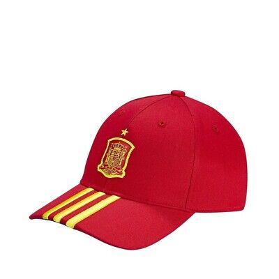 Casquette Espagne Football Rouge Homme Adidas Rouge