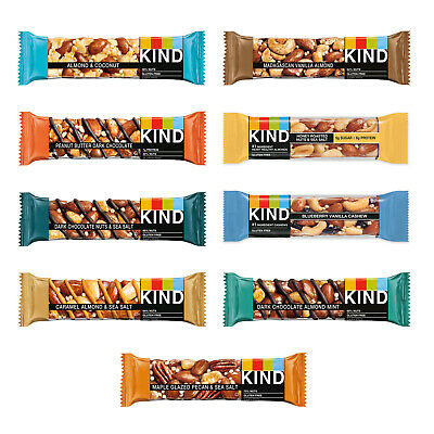 Kind - Natural Protein - Gluten free, Healthy Snack Bars