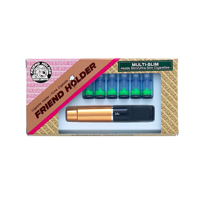 Friend 'Multi Slim' filtered cigarette holder. Non-ejector. Holds slim and ultra