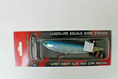 NIB Laserlure Laser Bait Top Water Floating Flat Brown Crawdad Crank-bait