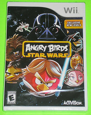 Nintendo Wii Video Game - Angry Birds Star Wars (New)