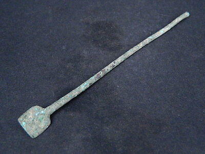 Ancient Large Size Bronze Tool Bactrian 300 BC #GL1640