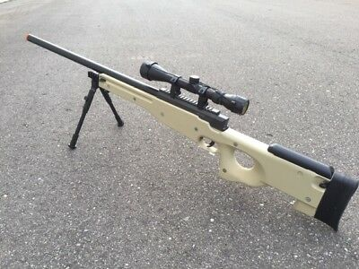 ONE AIRSOFT GREEN WELL Tactical L96 AWP Airsoft Sniper Rifle W