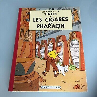 "Tintin – ""Les Cigares du pharaon"" – B15 1955 – BE"