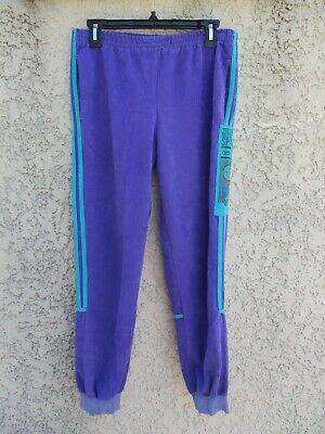 PANTALON ADIDAS MAGIC Moment 80'S Velour Survetement vintage