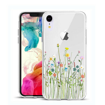 iPhone XR Case 1.5mm Protective Soft TPU Shock Absorption Crystal Clear 6.1 Inch