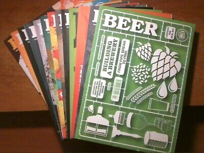 13 issues of Beer Magazine (Camra) - Issue numbers 27, 28, 30-40