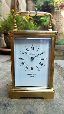 A Superb Quality 8-Day Striking Carriage Clock From The French Maker L'epee