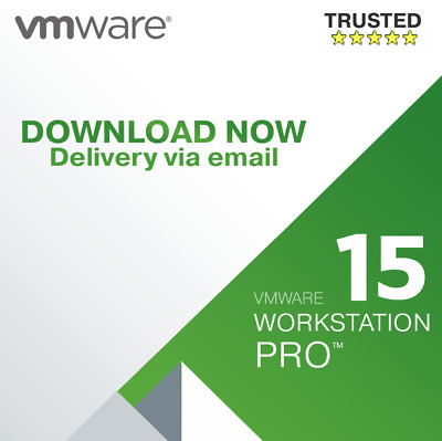 VMware Workstation Pro 15.5 Full Version Lifetime 1/5 PC Fast Delivery