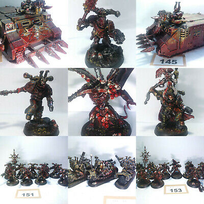 Warhammer 40k Khorne World Eaters Chaos Forgeworld Army Multi-Listing Pro Paint