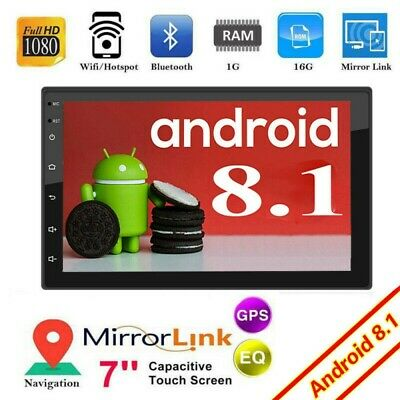 Android 8.1 Autoradio mit Navi Bluetooth Navigation Doppel 2DIN USB GPS WIFI MP3
