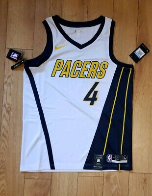 size 40 ff9c4 0006d INDIANA PACERS VICTOR Oladipo #4 Basketball Stitched Sewn ...