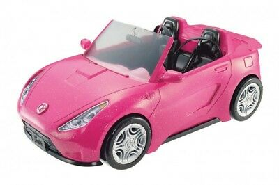 Barbie Pink Glam Convertible Car Doll + Vehicle Playset - Brand New in Box