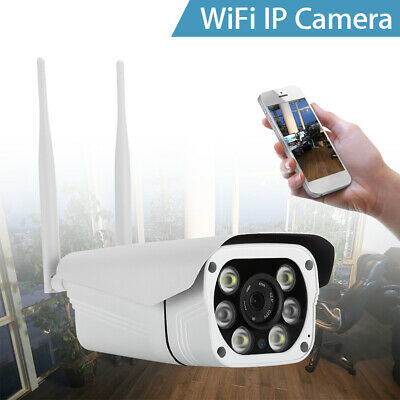 2MP HD 1080P Wireless WiFi IP Camera 4X Digital Zoom Onvif Security Home Outdoor