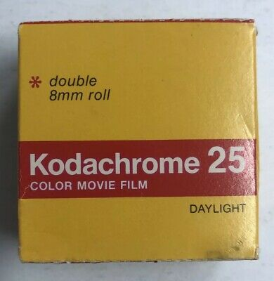Vintage 8mm Doubles Kodachrome 25 Color Movie Film Daylight KM495 Expired 1981