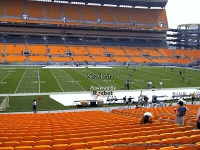 (2) Steelers vs Bills Tickets Lower Level Section 133 on 12/15/2019