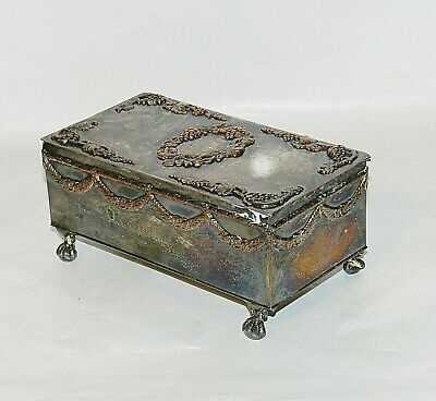 Lawrence B. Smith Co. EPNS Super Fine Silver Plate Box  Rectangular