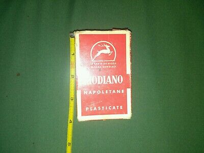 Modiano Napoletane Regional Italian Playing Cards 97/25  Vintage 1950's