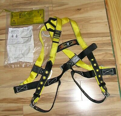 Guardian Fall Protection Adjustable Body Safety Harness Workwear Chest Leg Gear