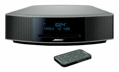 Bose Wave Music System IV with Remote, CD Player, AM/FM Radio Platinum Silver