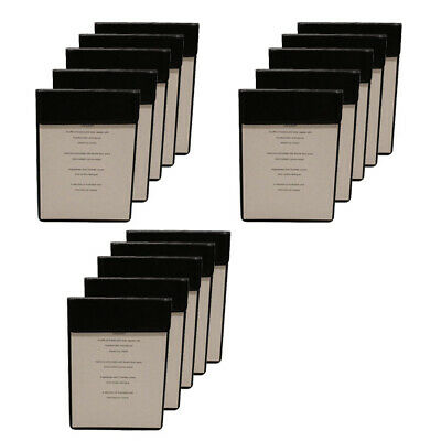 Bulk Buy A5 Magnetic Menu Board Black Faux Leather