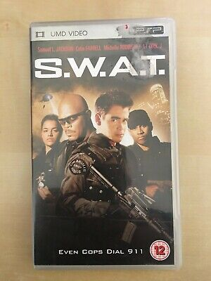 S.W.A.T. SWAT UMD movie for PSP - used, VGC, free postage