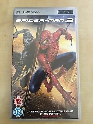 Spider-Man 3 - UMD movie for PSP, great cond, UK version, Spiderman