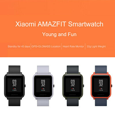 Original Xiaomi Huami AMAZFIT Bip GPS Smart Watch Bluetooth IP68 Global Version