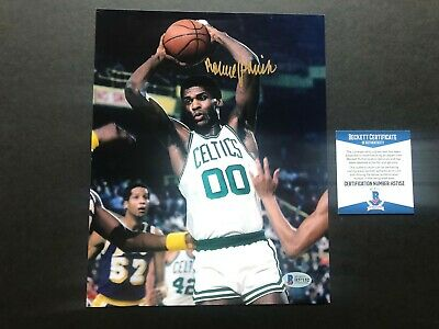 Robert Parish Hot! signed autographed Celtics legend 8x10 photo Beckett BAS coa