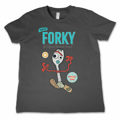 Officially Licensed Toy Story - Forky Unisex Kids T-Shirt Ages 3-12 Years