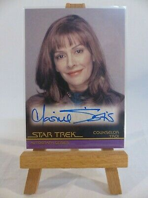 Star Trek movies In Motion autograph card A66 Marina Sirtis Counselor Troi